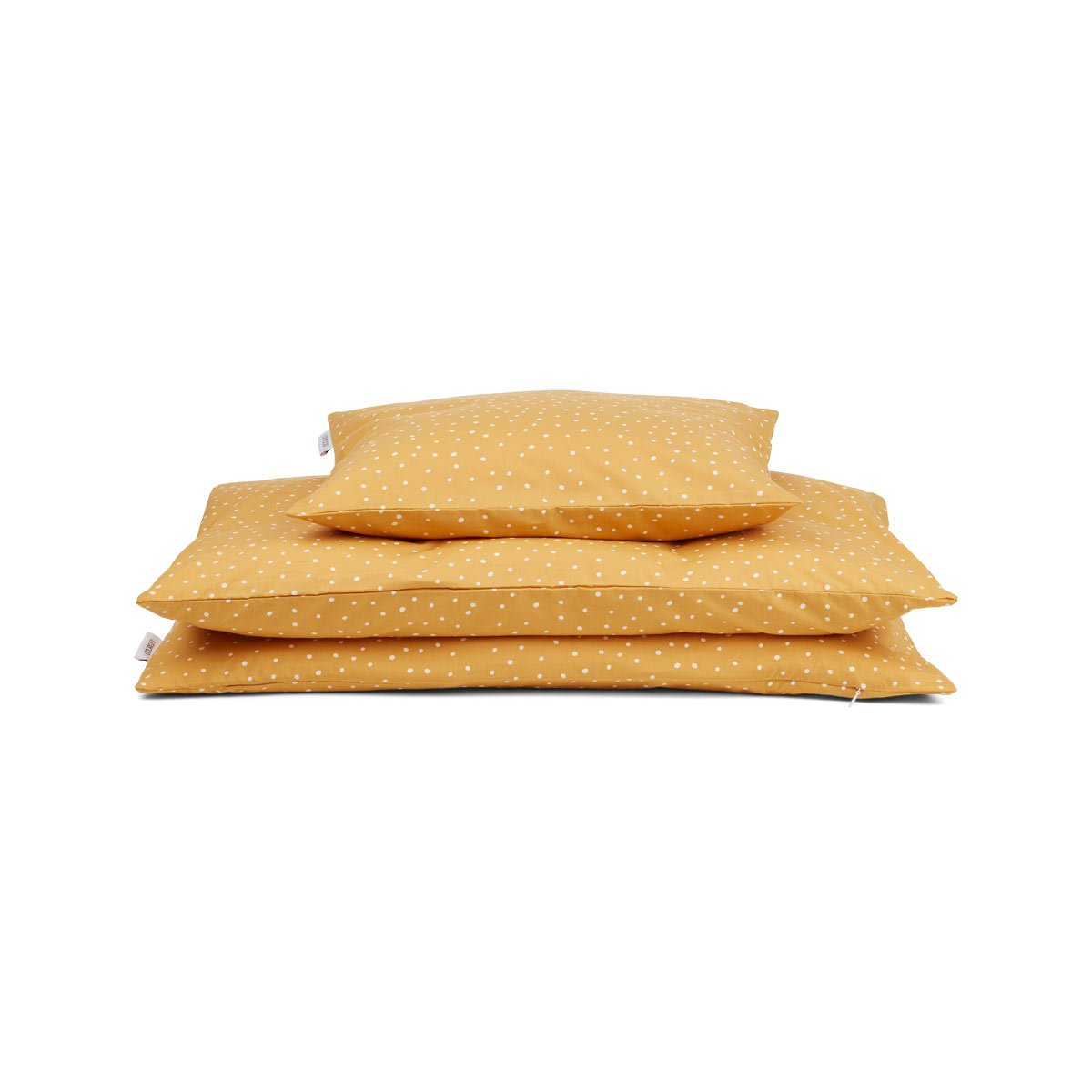 Organic Cotton Pillowcase Mellow Yellow